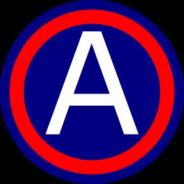 znak 3. americká armády
