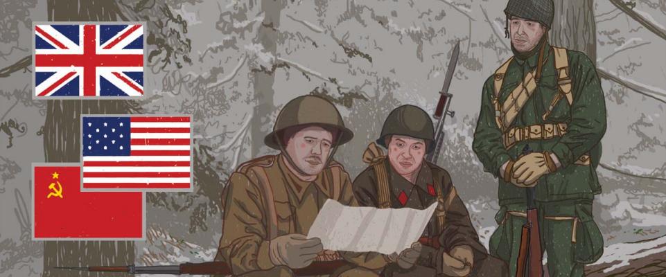 Kvíz 2 – Uniformy a vojenská technika spojenců