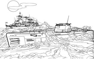 ponorka u2518
